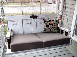 Image Kitchen Island Porch Swing From Old Doors Guy Girl And Really Old House Wordpresscom Porch Swing From Old Doors Guy Girl And Really Old House