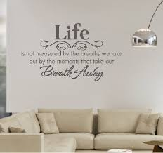 Life Quote Wall Stickers Life Quote Wall Stickers Magnificent Wall Art Design Ideas Lettering 28