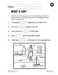 Kindergarten Phonics Worksheets Free Phonics Worksheets For ...