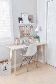 This is a really pretty workspace and would be great for doing homework!  Ideal for  Small Desk BedroomSmall Room DecorBedrooms Ideas For ...