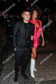 Marco Verratti girlfriend Jessica Aidi Redaktionelles Stockfoto – Stockbild