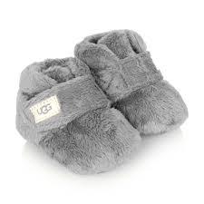 Ugg Grey I Bixbee Booties Baby Girl Designer Clothes