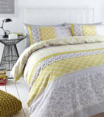 mustard yellow duvet cover bedding set uk king