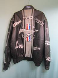ford mustang leather jacket best image and quilt mauimage co