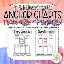Printable Lists And Charts Traceable Printable Reading Anchor Charts