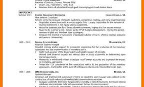 Formats Of Resumes Different Kind Of Resume Different Formats Of