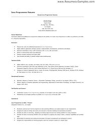 Computer Programming Resumes Hvac Cover Letter Sample Hvac Cover