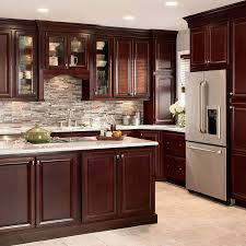 kitchen ideas cherry cabinets. Kitchen Design · Shop Shenandoah Bluemont 13-in X 14.5-in Bordeaux Cherry Square Cabinet Sample At Ideas Cabinets I