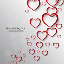 Valentine Day Card Decor Background Free Vector In Adobe