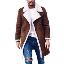 Us 11 43 42 Off Jaycosin Mens Wool Warm Winter Trench Long Outwear Button Smart Overcoat Coats Waterproof Windproof Winter Jacket Men In Wool