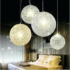 crystal ball chandelier modern crystal ball pendant lamp crystal pendant light round ball chandeliers living room