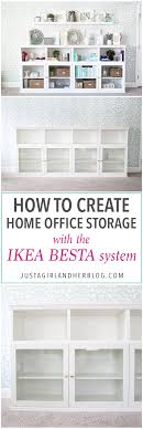 ikea office storage. I Love This IKEA BESTA Hack To Make A Beautiful Storage Unit For Home Office Ikea M
