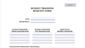 Budget Forms To Print Free 41 Budget Forms Pdf