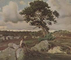 jean baptiste camille corot 1796 1875 fontainebleau forest the