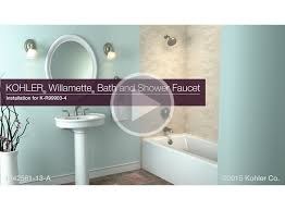 k r99903 4 willamette bath and shower faucet installation