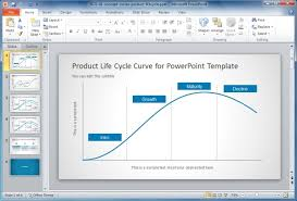 Life Chart Template Product Life Cycle Powerpoint Chart Slidemodel