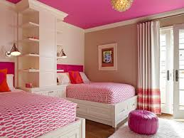 bedroom ideas for teenage girls with medium sized rooms. Example Of A Transitional Guest Bedroom Design In San Francisco With Multicolored Walls Ideas For Teenage Girls Medium Sized Rooms