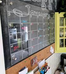 reality daydream plexiglass acryllic calendar over chalkboard command center wall reality daydream