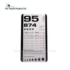 Eye Sight Chart Pvc Eye Sight Chart Eye Test Vision Chart Projector With Mini Pocket Size Buy Visual Eye Chart Eye Test Chart Medical Eye Chart Product On