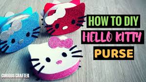 <b>DIY</b> Hello Kitty Purse – <b>Three Colour</b> Scheme Designs, <b>Craft</b> Glitter ...