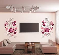 Small Picture Buy Syga Floral Wall Sticker PVC Vinyl 61 cm x 5 cm x 5 cm