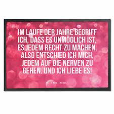 40 X 60 Fußmatte Spruch Lebensfreude Geschenk Freundin Leben