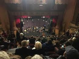 Beacon Theatre Section Upper Balcony C Row L Seat 102