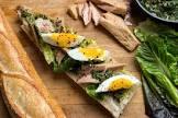 an italian tuna sandwich