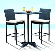 Outdoor Bar Table Attractive And Chairs With Cheap Height Set