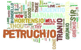 scc english the taming of the shrew on wordle  the taming of the shrew on wordle
