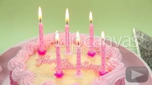 Happy Birthday Birthday Cake Cake Stock Footage Hd Video 157995