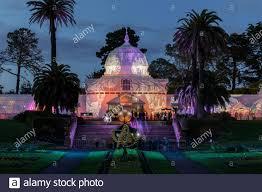 Holiday Lights At Sf Conservatory San Francisco California November 29 2019 Conservatory