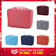 jk local ready stock travel cosmetic makeup bag organizer pouch beg bags b028