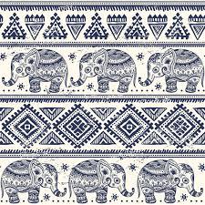 Elephant Pattern Impressive Ethnic Elephant Pattern Wallpaper For Decor