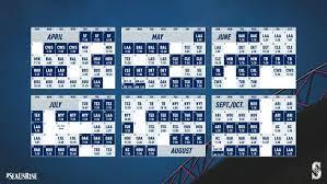 Mariners Schedule Wallpapers