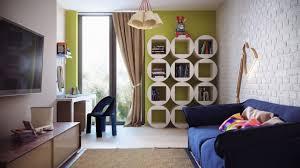 Living Room Bookshelves Bookcases In Living Room House Photo