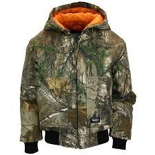 Youth Hooded Jacket Realtree Xtra