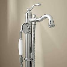 add shower head to bathtub faucet freestanding tub faucet with hand shower bathroom head attachment for