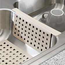 Beautiful MDesign Kitchen Sink Protector Mat Pad Set, Quick Draining   Use In Sinks  To Protect