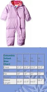 Columbia Baby Size Chart Pin On Outerwear 147324