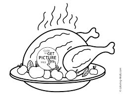 Free Printable Thanksgiving Turkey Coloring Pages Printable