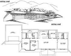 Rammed Earth House Plan 1342  Rammed Earth Homes Floor Plans Earth Contact Home Plans