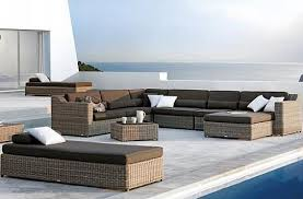 outdoor luxury furniture. Pleasurable Inspiration Luxury Outdoor Furniture Beautiful Wicker Modern Uk 2