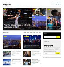 Wordpress Newspaper Template Free 19 News Bootstrap Themes Templates Free Premium Templates