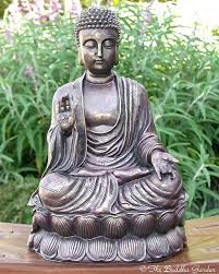 garden buddah statue statue with antique finish garden buddha statue uk