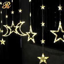 decorative string lighting. special design led string light for wedding decoration moon star decorative lighting