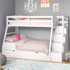 Viv + Rae Reece Twin Over Full Bunk Bed with Trundle | Bunk bed ...