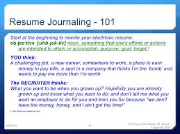 Resume Writing 101 Awesome Power Resume Writing Posting Part 48