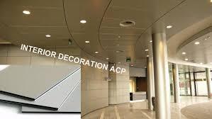 decorative 3mm pe coating acp aluminum