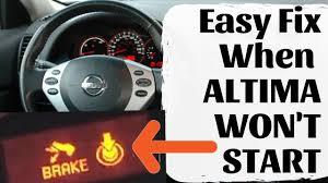 Car Wont Start No Clicking Noise Lights Work Nissan Altima Wont Start 2 Easy Fixes